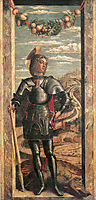 St. George, 1467, mantegna
