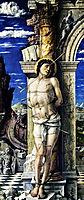 St. Sebastian, 1475, mantegna