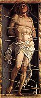 St. Sebastian, 1506, mantegna