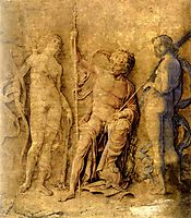 Three deities, mantegna