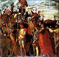 Triumphs of Caeser, mantegna