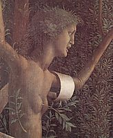 The victory of virtue, mantegna