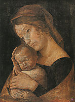 Virgin and Child, mantegna