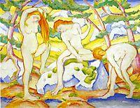 Bathing Girls, marcfrantz