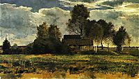 Cottages on the Dachau Marsh, 1902, marcfrantz
