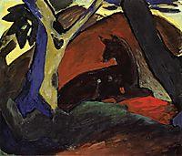 Crouching Deer, 1911, marcfrantz