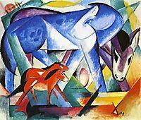 The First Animals, 1913, marcfrantz