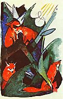 Four foxes, marcfrantz