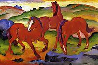 Grazing Horses IV (The Red Horses), marcfrantz