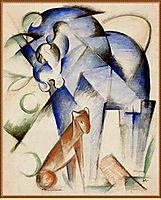 Horse and dog, 1913, marcfrantz