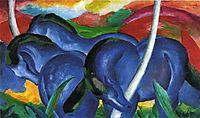 The Large Blue Horses, 1911, marcfrantz