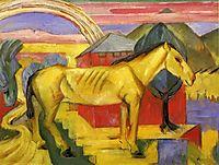 Long Yellow Horse, 1913, marcfrantz