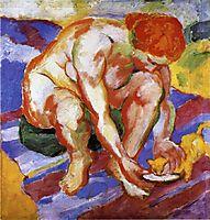 Nude with Cat, marcfrantz