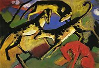 Playing Dogs, c.1912, marcfrantz