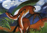 The Red Deer, 1912, marcfrantz
