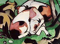 Resting Cows, 1911, marcfrantz