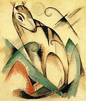 Seated Mythical Animal, 1913, marcfrantz