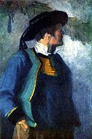 Self-portrait, 1905, marcfrantz