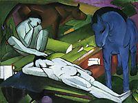 Shepherds, c.1912, marcfrantz
