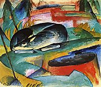 Sleeping Deer, 1913, marcfrantz