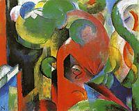 Small Composition III, c.1914, marcfrantz
