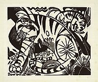 Tiger, 1912, marcfrantz