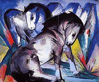 Two Horses, 1913, marcfrantz