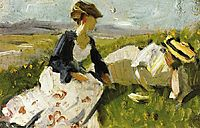 Two Women on the Hillside, marcfrantz