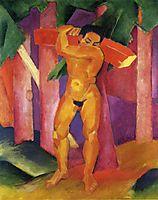 Woodcutter, 1911, marcfrantz