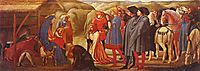 Adoration of the Knigs, masaccio