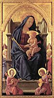 Maria and Child, 1426, masaccio
