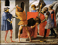 Martyrdom of San Giovanni Battista, 1426, masaccio