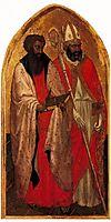 San Giovenale Triptych. Left panel, c.1422, masaccio