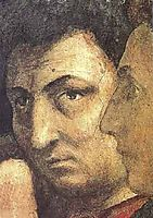 Self portait, 1420, masaccio