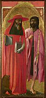 St Jerome and St John the Baptist, 1428, masaccio