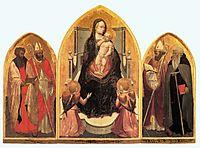 St. Juvenal Triptych, 1422, masaccio