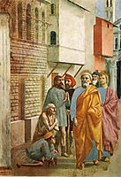 St.Peter Healing the Sick with His Shadow, 1425, masaccio