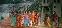 The Tribute Money, masaccio