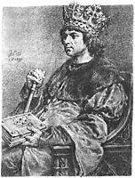 Aleksander Jagiellonczyk, matejko