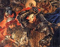 Battle of Grunwald (detail), matejko