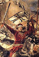 Battle ofGrunwald (detail), matejko