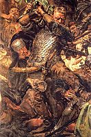 Battle of Grunwald, Jan Zizka(detail), matejko