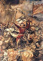 Battle ofGrunwald, Witold (detail), matejko