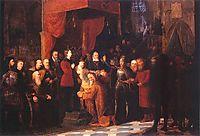 Coronation of the first king A.D. 1001, 1889, matejko