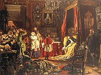Death of Sigismund Augustus at Knyszyn, matejko