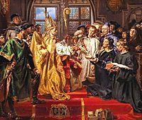 Founding of the Lubrański Academy in Poznań , matejko
