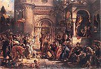 Immigration of the Jews, matejko