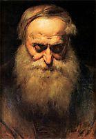 old man-shead, matejko