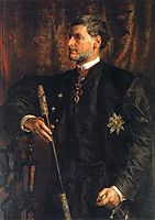 Portrait of Alfred Potocki , 1879, matejko
