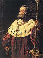 Portrait of Stanisław Tarnowski, 1890, matejko